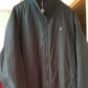 BLACK TOMMY HILFIGER JACKET QUILTED LINING XXL